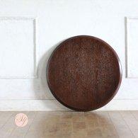 丸天板 Φ60cm ブラウン tb-60r-5 リプロ
