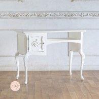 ネイルテーブル クラシックホワイト 幅103cm 7018-18 リプロ C 100*50*78