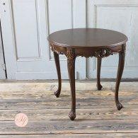 ラウンドテーブル ブラウン 4235-8-5 リプロ B 80*80*10