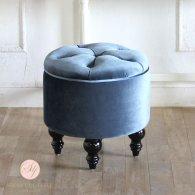 マカロンスツール 一人掛け アクアリウムブルー aj6f92k リプロ