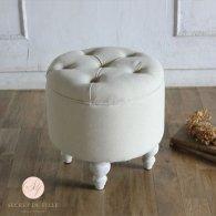 マカロンスツール 一人掛け ナチュラルヴァニラ aj6f80n リプロ