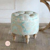 マカロンスツール 一人掛け ロアゾブルー aj6f66n リプロ