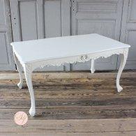 ダイニングテーブル ホワイト 4235-1.5-18 リプロ C 150*90*10
