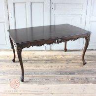 ダイニングテーブル ブラウン 4235-1.5-5 リプロ C 150*90*10