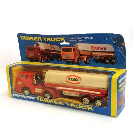 (未使用)TEXACO ミニチュア タンカ―トラック