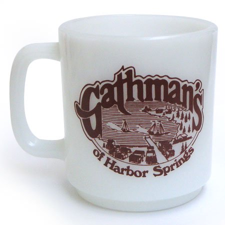 グラスベイク Gathman's of Harbor Springs マグ