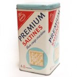 ナビスコ PREMIUM SALTINES  CRACKERS ティン缶