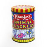 Stauffer's ANIMAL CRACKERS ティン缶(8oz)