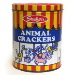 Stauffer's ANIMAL CRACKERS ティン缶(16oz)