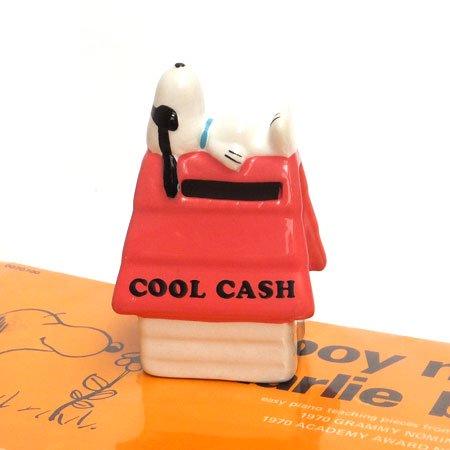 スヌーピーコインバンク COOL CASH