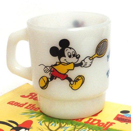ファイヤーキング ミッキーマウス&ミニーマウステニスマグ