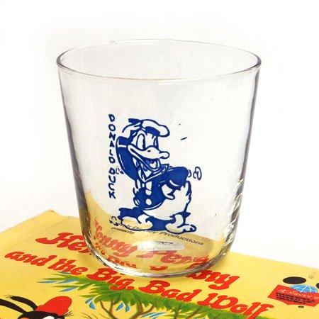 30's Bosco Glass ドナルド・ダックグラス