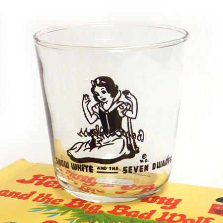 30's Bosco Glass 白雪姫グラス
