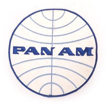 PAN AM  ロゴワッペン