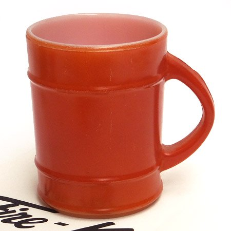 ファイヤーキング レンジャーマグオレンジ(赤茶)