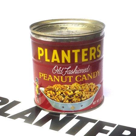 70's Mr.Peanut ピーナッツキャンディ 13oz 缶