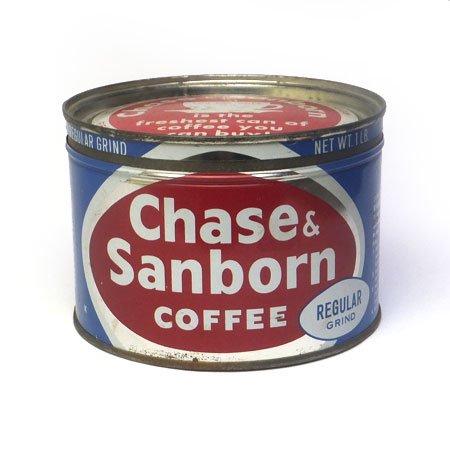 Chase& Sanborn coffee(Regular)ティン缶