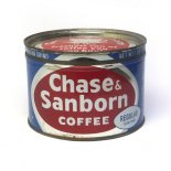Chase& Sanborn coffee(Regular)ティン缶