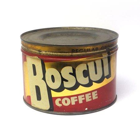 BOSCUL COFFEE ティン缶
