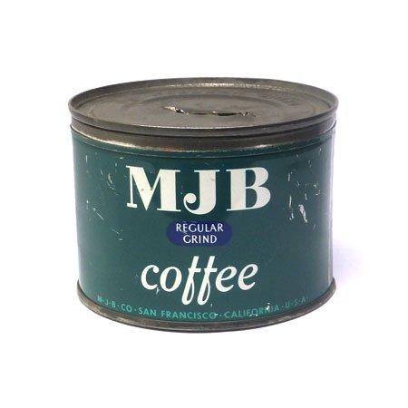 MJB Coffee ティン缶