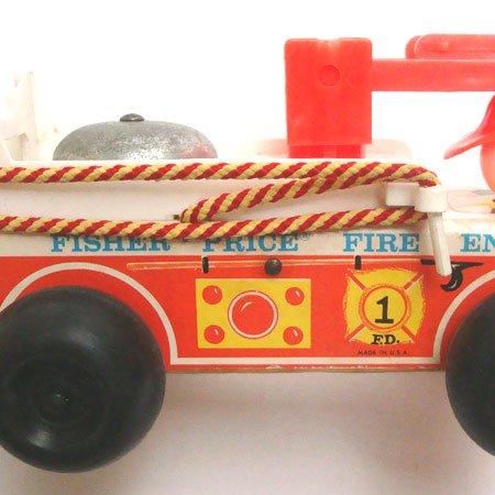 フィッシャープライス 消防車