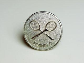 テニス好きのお洒落な方へのピンバッジ Metal 012