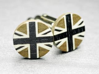 紳士の国イギリス国旗のおしゃれなカフスボタン Modern 002