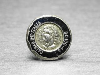 外国のコインのようなピンバッジ Metal 004