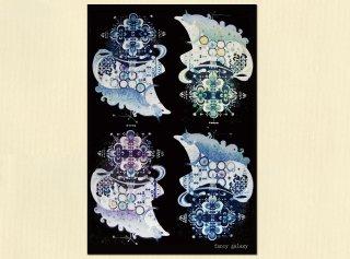 ポストカード・fancy galaxy