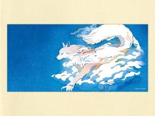 大判ポストカード・Blue beast