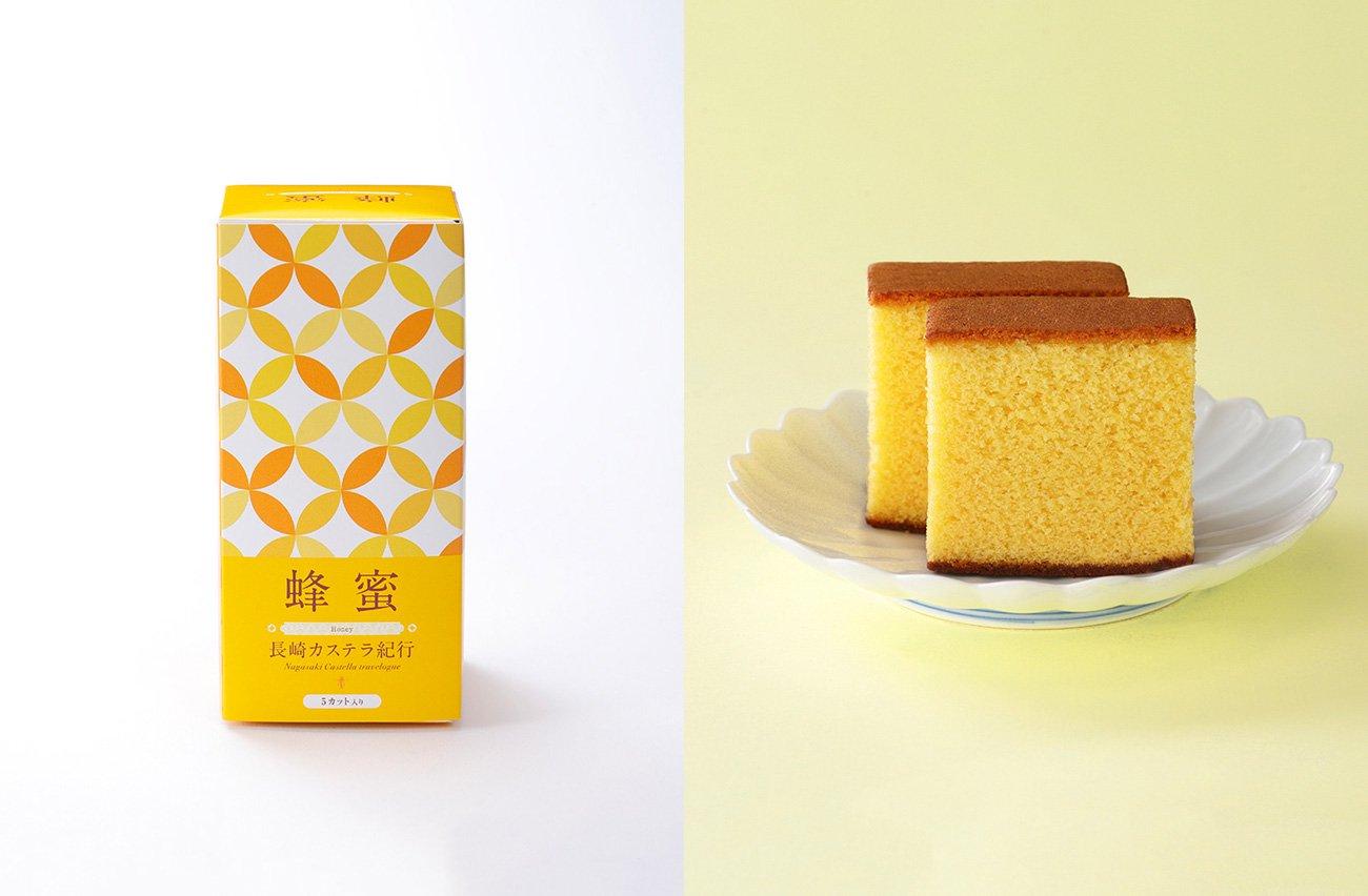 長崎カステラ紀行 蜂蜜風味 0.3号