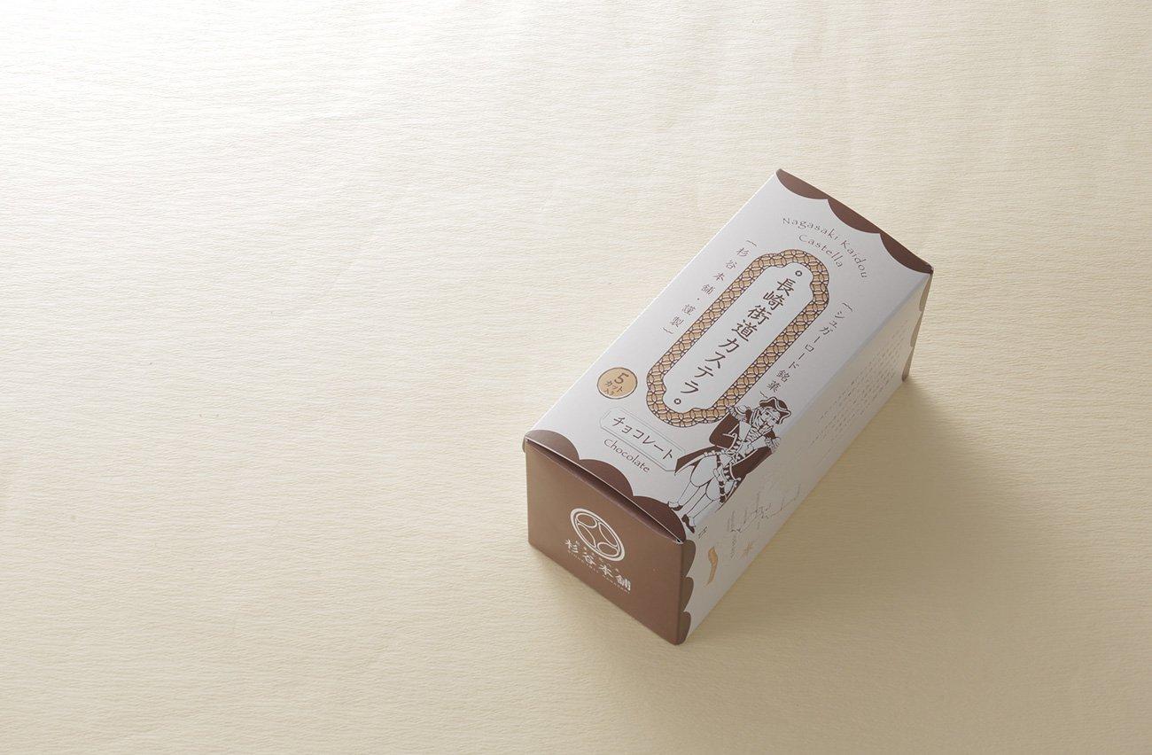 杉谷本舗の長崎街道カステラチョコレート風味0.3号