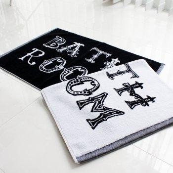 【バスマット】BATH ROOM モノトーン バスマット