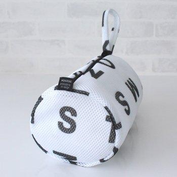 【ランドリーネット】アルファベット ランドリーネット 筒型 Sサイズ