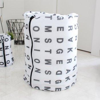 【ランドリーネット】アルファベット ランドリーネット 筒型 XLサイズ