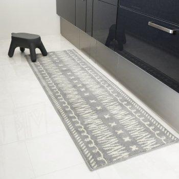 【キッチンマット】ネイティブ柄 キッチンマット 60cm×180cm