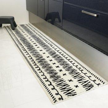【キッチンマット】ネイティブ柄 キッチンマット 60cm×240cm