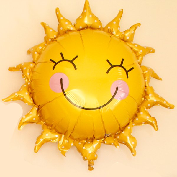 お家で夏バルーン!2021「太陽」