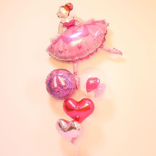 ピンクスドレスバレリーナ
