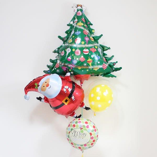 【クリスマスバルーン】デコレイテッドツリー