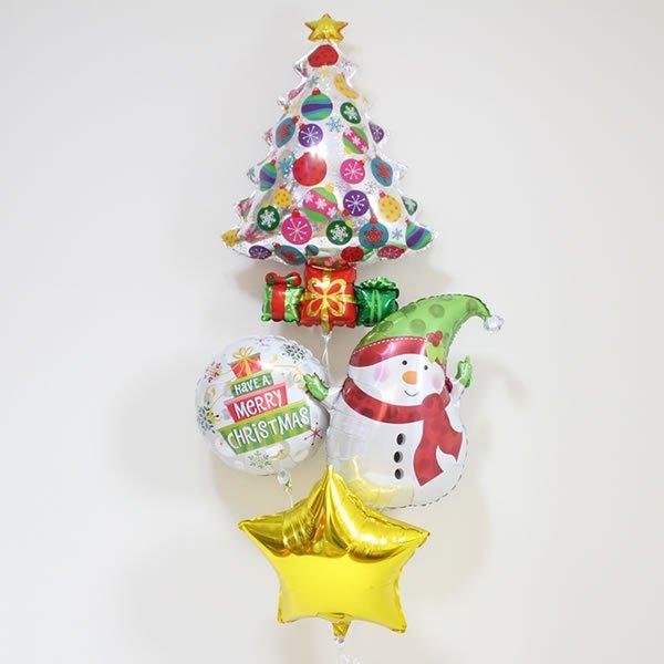 【クリスマスバルーン】スパークリングオーナメントツリー
