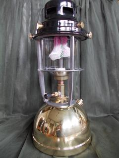 Vapalux M320 Polished Brass Lantern