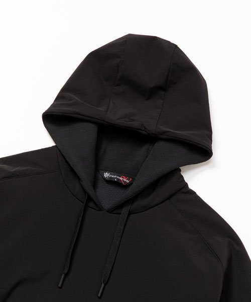 QUARTER FACE HOODIE<img class='new_mark_img2' src='https://img.shop-pro.jp/img/new/icons1.gif' style='border:none;display:inline;margin:0px;padding:0px;width:auto;' />