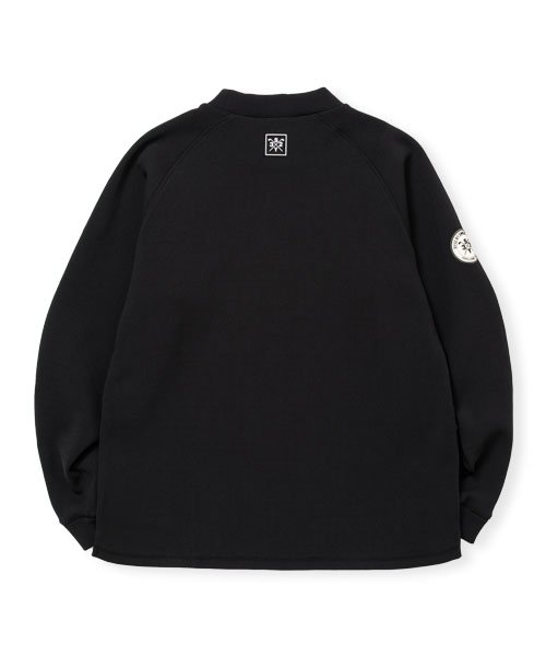 QUARTER FACE MOCK NECK<img class='new_mark_img2' src='https://img.shop-pro.jp/img/new/icons1.gif' style='border:none;display:inline;margin:0px;padding:0px;width:auto;' />