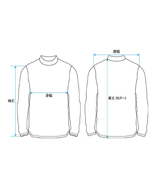 BORDER HIGH NECK<img class='new_mark_img2' src='https://img.shop-pro.jp/img/new/icons1.gif' style='border:none;display:inline;margin:0px;padding:0px;width:auto;' />