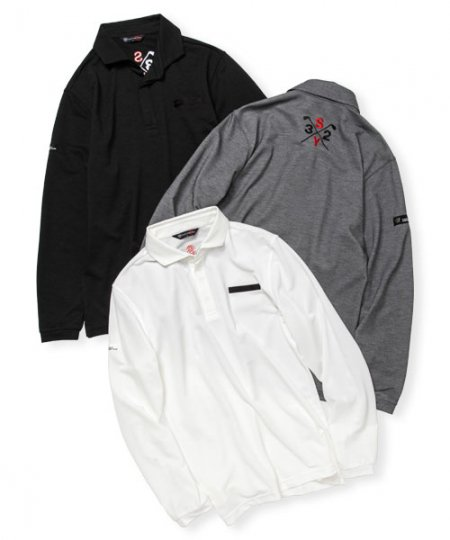 LONG SLEEVES POLO<img class='new_mark_img2' src='https://img.shop-pro.jp/img/new/icons1.gif' style='border:none;display:inline;margin:0px;padding:0px;width:auto;' />