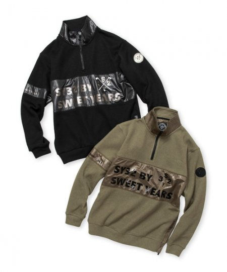 QUARTER FACE HALF ZIP<img class='new_mark_img2' src='https://img.shop-pro.jp/img/new/icons1.gif' style='border:none;display:inline;margin:0px;padding:0px;width:auto;' />