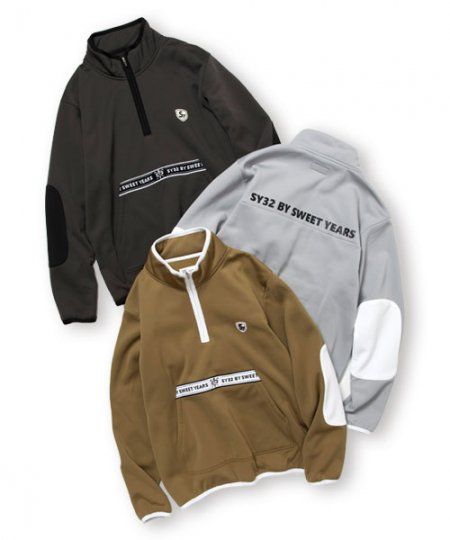 WARM HALF ZIP<img class='new_mark_img2' src='https://img.shop-pro.jp/img/new/icons1.gif' style='border:none;display:inline;margin:0px;padding:0px;width:auto;' />