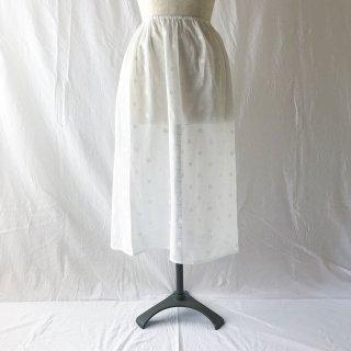 �【スカートとご一緒に購入のお客様用】TCジャガードのペチコート:70cm丈:スクエア