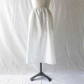 �【スカートとご一緒に購入のお客様用】TCジャガードのペチコート:70cm丈:フラワー